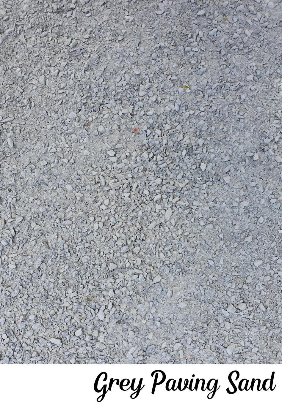 Grey Paving Sand