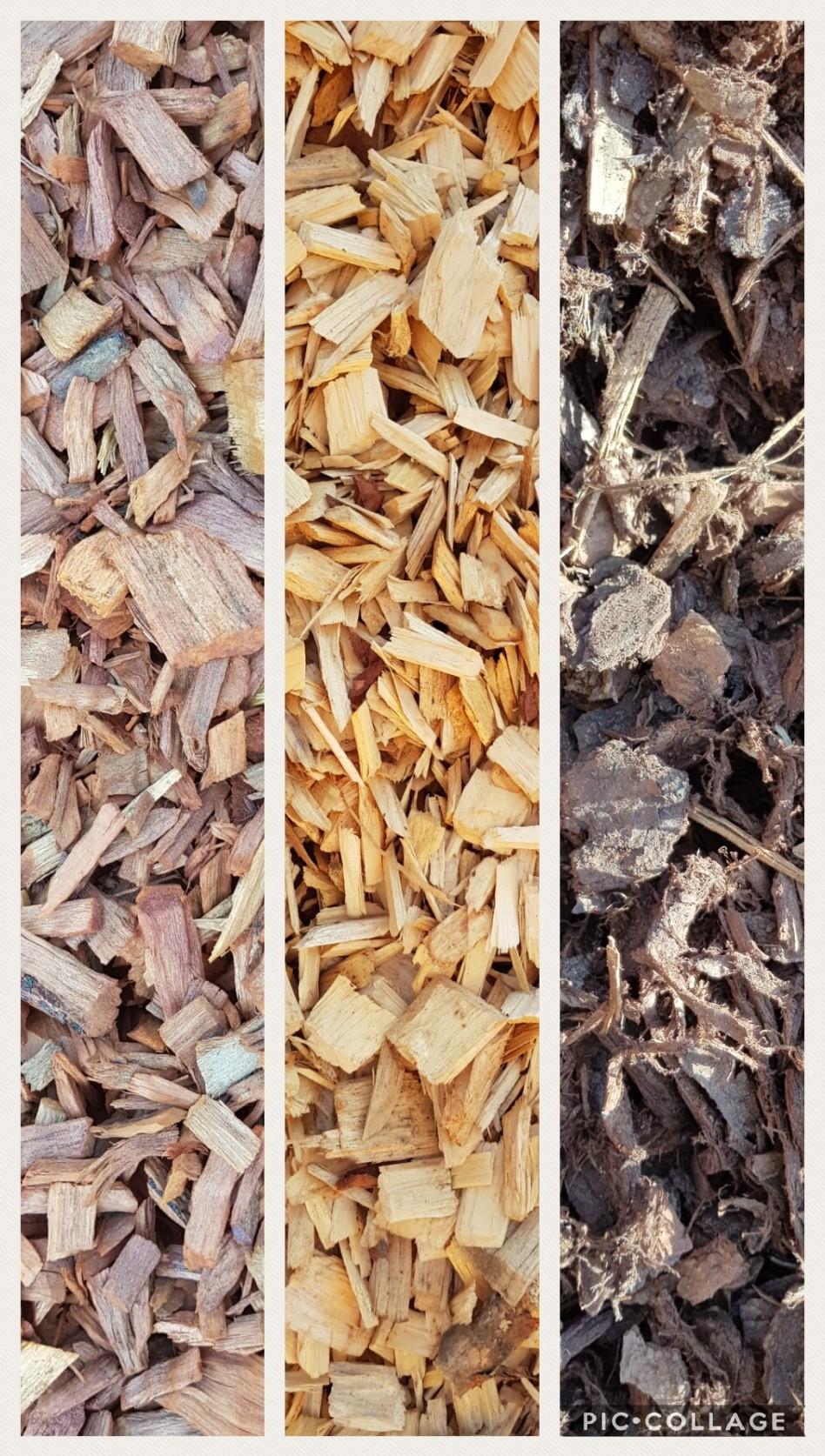 Redgum Chip, Playground Chip & Graded Bark