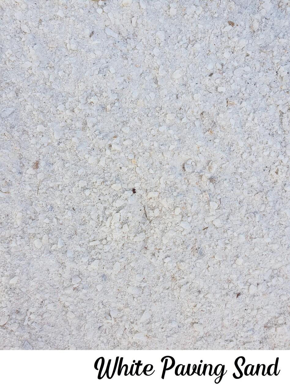 White Paving Sand